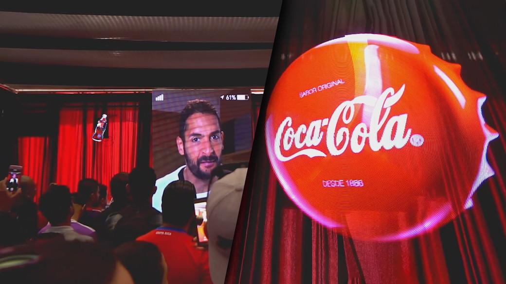 Hypervsn Coca Cola Activation