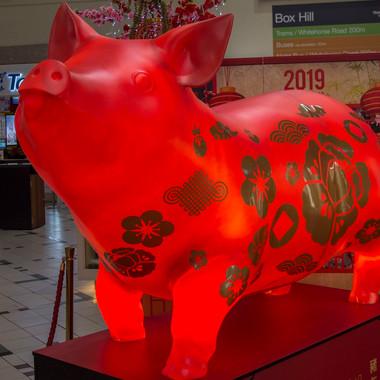 3D Print illuminated Pig