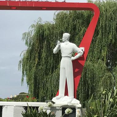 Fletcher Jones Statue