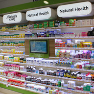 Chemmart Natural Medicines Wall
