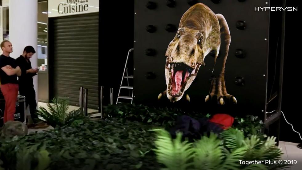 Hypervsn Dinosaur