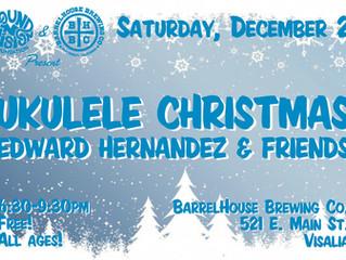 December 23rd at the Barrelhouse in Visalia Ca
