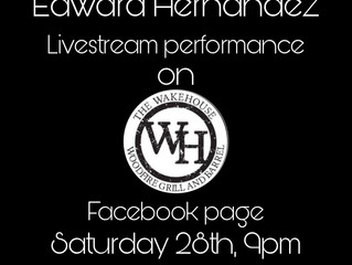 Going to Livestream this Saturday Wakehouse Facebook page