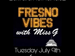 Interview on Fresno Vibes with Miss G