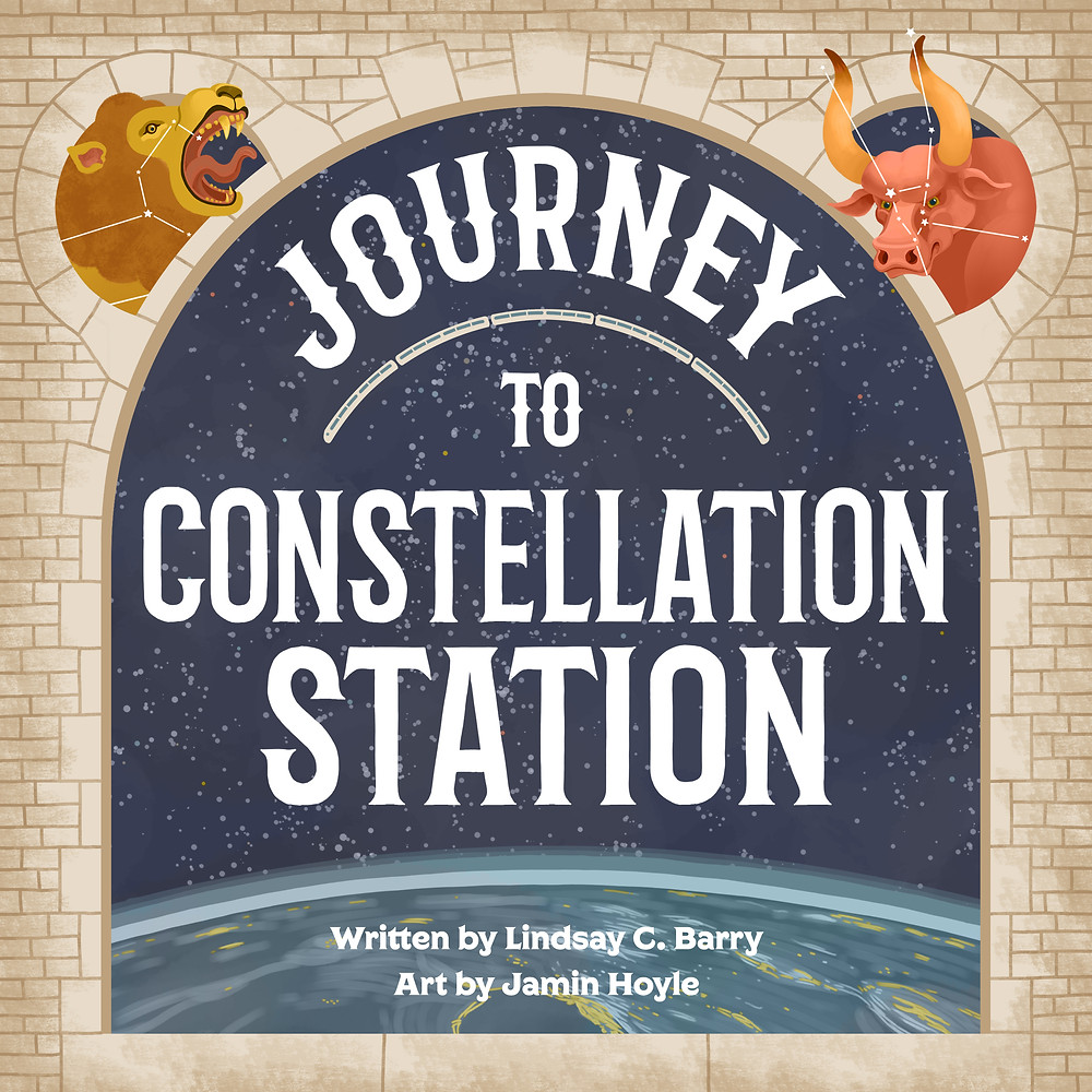 Book giveaway: Journey to Constellation Station by top children's author, Lindsay Barry