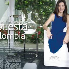 Ángela María Tafur le apuesta a Colombia