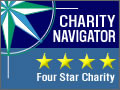 Highest Efficiency Rating by Charity Navigator