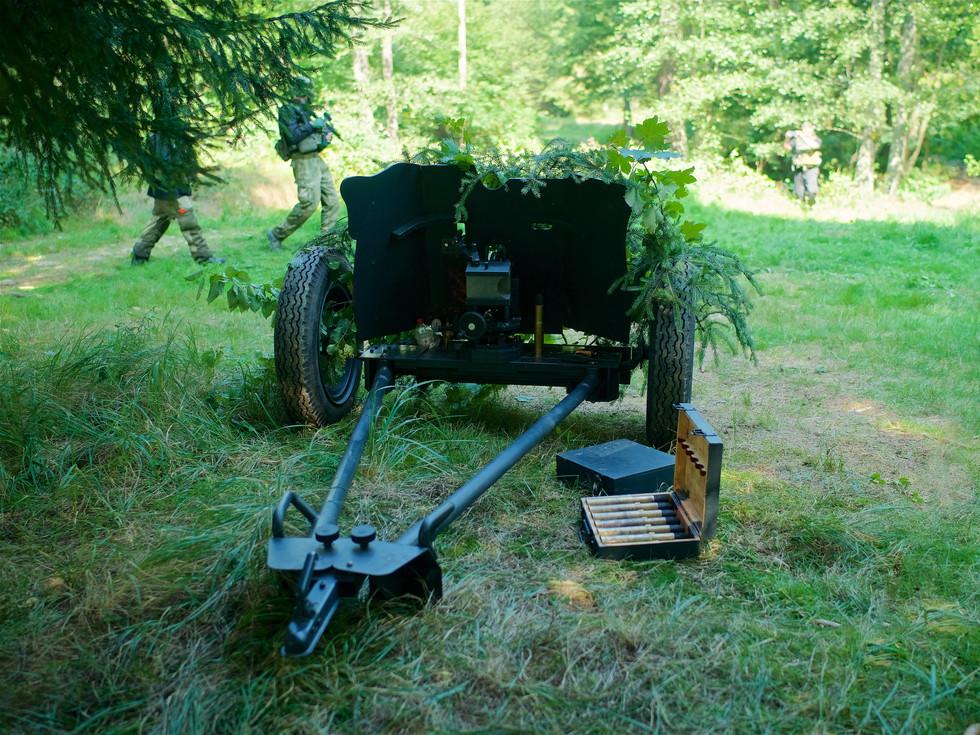 Paintball artillery