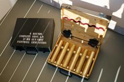 Paintball ammunition boxes