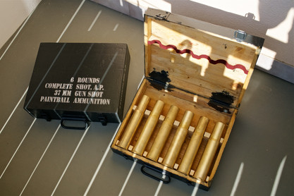 Paintball ammunition boxes