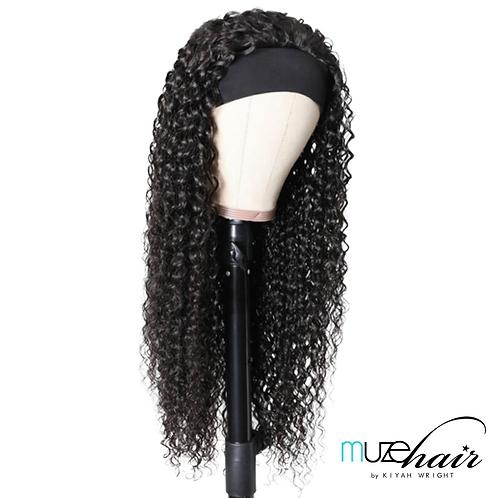 Deep Curl Headband Wig- 20in