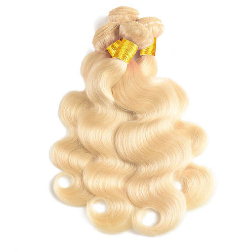 Blonde Body Wave Hair Extensions | 100% Virgin Human Hair Bundles