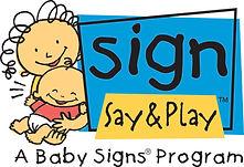 Sign, Say & Play Baby Signs