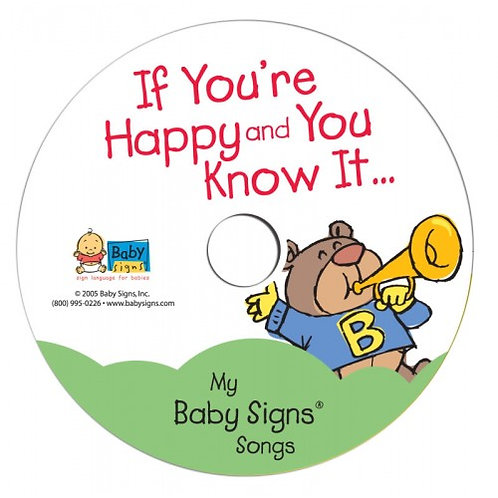 If You're Happy and You Know It Music CD