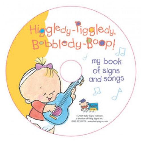 Higgledy-Piggledy Bobbledy-Boop! Music CD