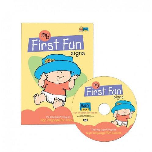 My First Fun Signs DVD
