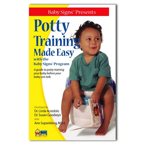 Potty Training Made Easy with the Baby Signs® Program