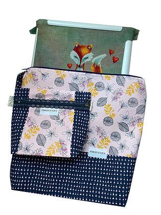 Whisper Large Project Bag Set of 2