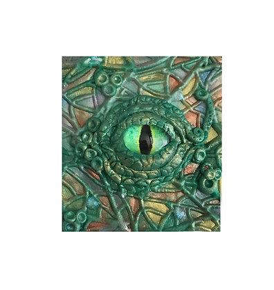 Autumnal Dragon Eye Tile
