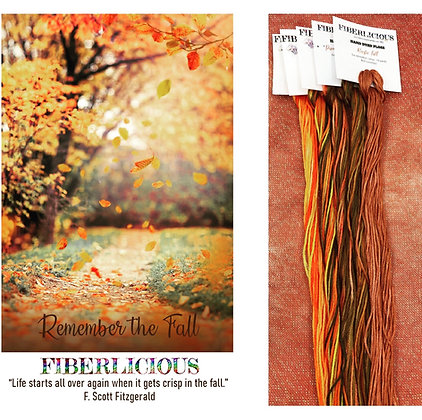 Remember the fall Thread Pack