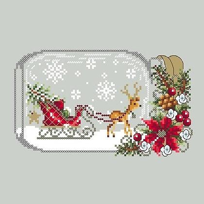 Christmas Sleigh Snowglobe