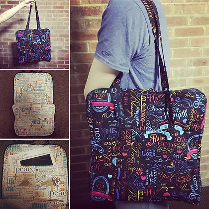 Custom Qsnap Travel Tote Bag