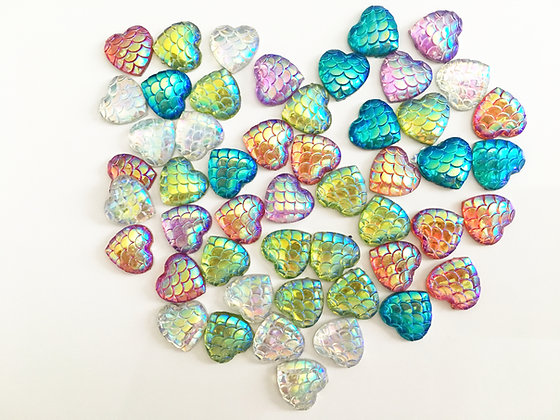 Mermaid Scale Heart Minders