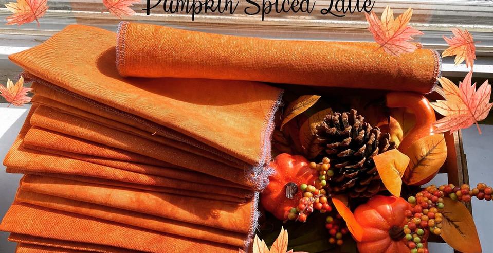 Pumpkin Spiced Lattes