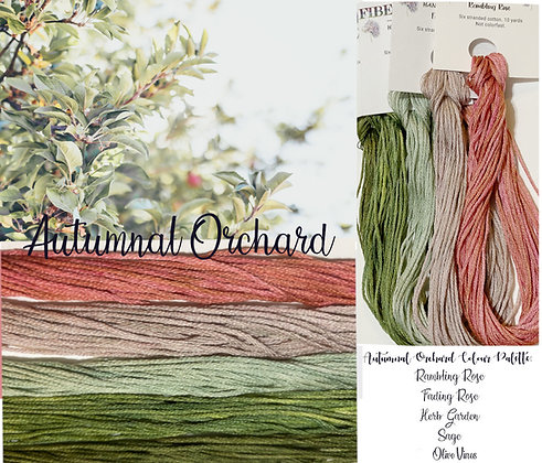 Autumnal Orchard Color Palette Pack