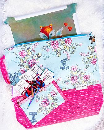 Lavie en Rose Large Project Bag Set of 2