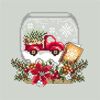 Snow Globe Truck