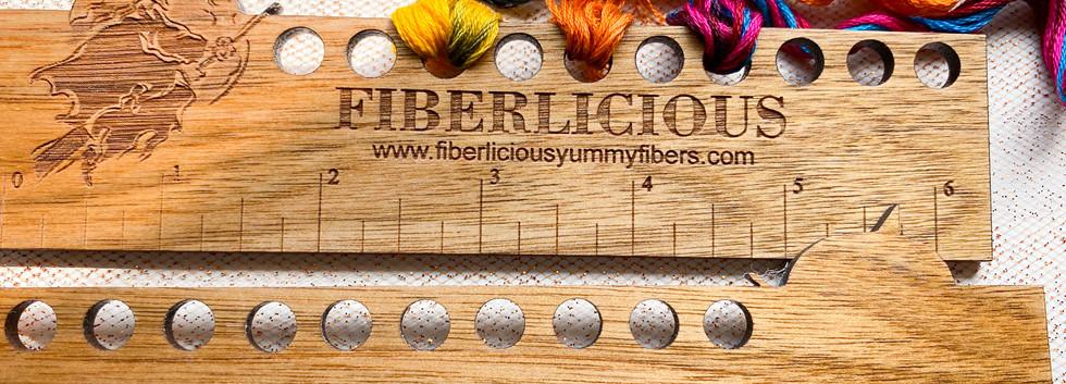 Thread keeper Ruler