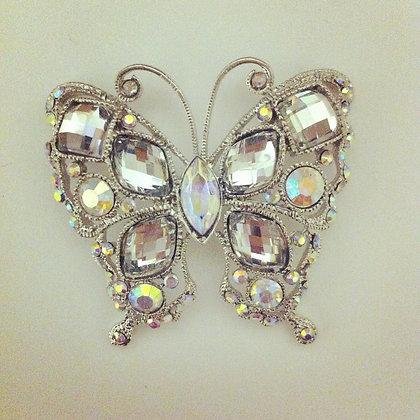 Austrian Crystal Butterfly Needle minder
