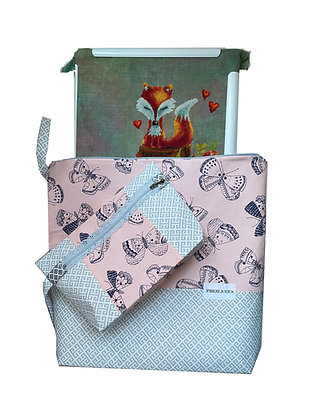 Fluttery Large Project Bag Set of 2