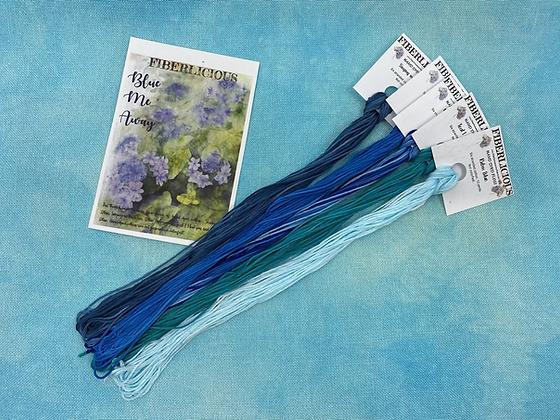 Blue Me Away Thread Pack