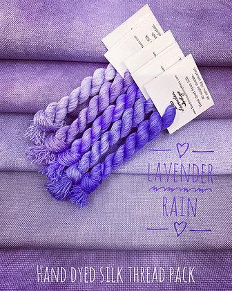Lavender rain Silk Pack