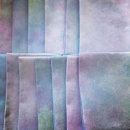 Hand dyed Fabrics Club - Opalescent