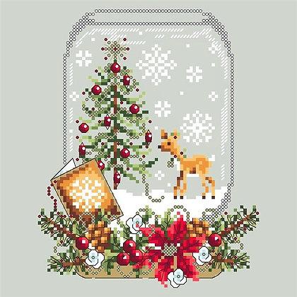 Christmas Deer Snowglobe
