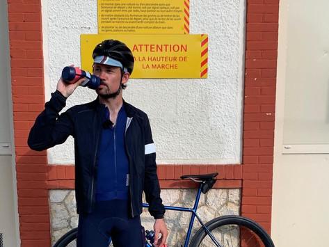 Matthieu Tordeur fait le bilan de son tour de Normandie à vélo