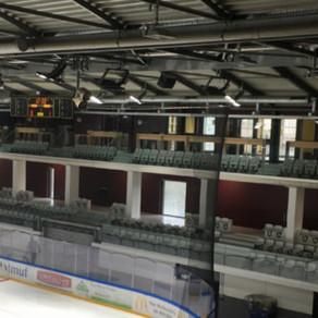 Un appel à projet pour décorer l'extension de la patinoire de l'île Lacroix