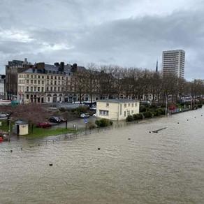 Inondation : La Seine-Maritime en vigilance orange