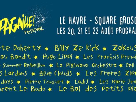 Du 20 au 22 août, c'est La Pagaille au Havre !