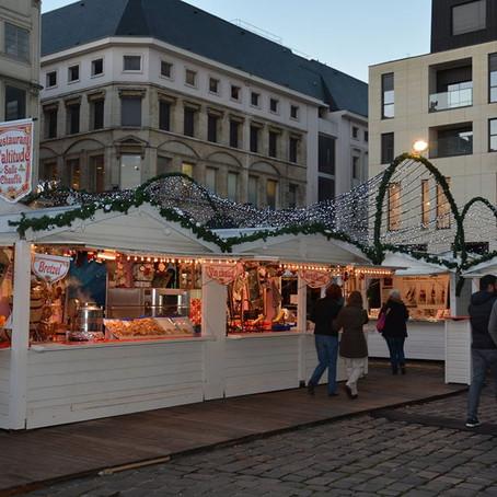 Début du Marché de Noël à Rouen aujourd'hui