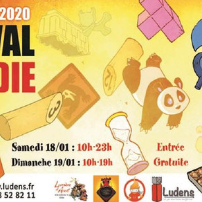 19ème édition du Festival Normandie Jeux à la Halle aux Toiles