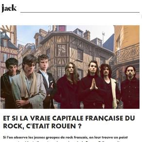 Quand Jack pense que la capitale du Rock est Rouen