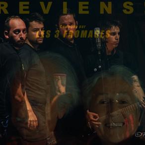 """Les 3 Fromages nous présentent leur nouveau single """"Reviens"""""""