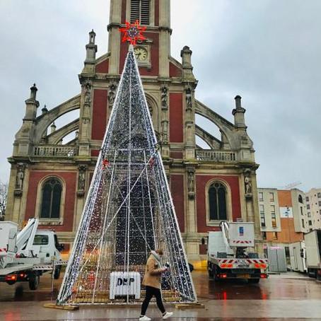 Rouen, ville de lumière en fin d'année