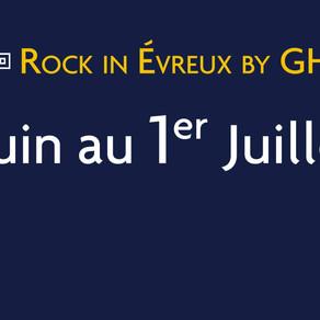 Prog' du Rock In Evreux by GHF : les premiers noms...