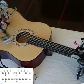 Little Talks joué par un robot-Lego