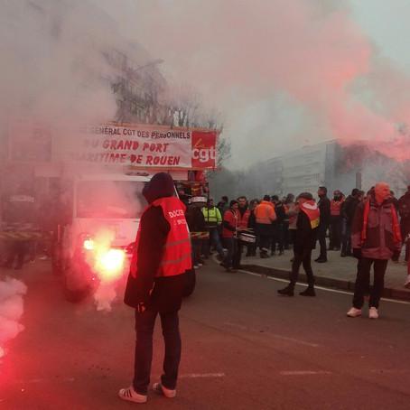 LIVE : Suivez les manifestations à Rouen